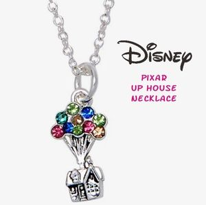 🎈Disney Pixar Up House CZ necklace new in package